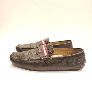 BALLY Men's WABLER driving loafer size 10.5d usa